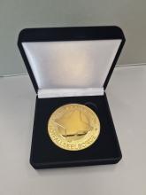 Dankesmedaille (gold)