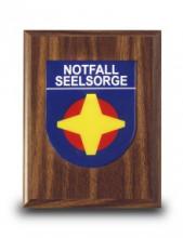 Holzbrett für NFS-Wappen