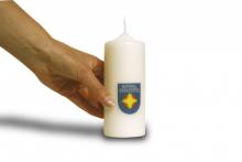 Notfallseelsorge Kerze - ohne Text
